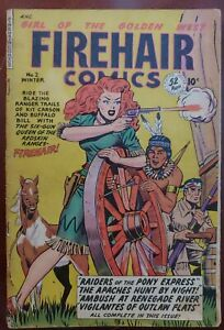 Firehair Comics #2 1949 Winter Issue  Rare!