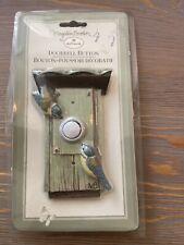 Marjolein Bastin Bird House door bell button by Hallmark New In Package