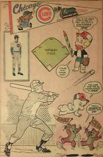 """Vintage 1976 Chicago Cubs MLB Full Comic Book Ad-Page 6"""" x 9"""""""
