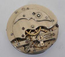 Fine Humbert Ramuz Pocket Watch Movement Stem At 3 For Repair Or Parts