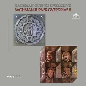 Bachman-Turner Overdrive & Bachman-Turner Overdrive II SACD Hybrid Multi-Channel