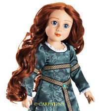 Celtic Princes Rowena 18 inch Slim Doll with red Hair & Blue Eyes from Carpatina