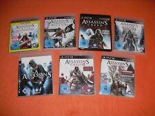 ★★★ Assassins Creed Bundle   Playstation 3 / Ps3 ★★★