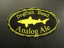 DOGFISH HEAD Analog Ale tap STICKER decal craft beer brewing brewery