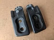 90-05 Mazda Miata OEM NA NB Front Hard Soft Top Striker Plates Pair Latches