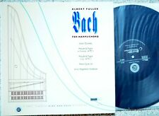 AUDIOPHILE Albert Fuller Bach for Harpsichord Reference Recordings RR- 51 LP NM