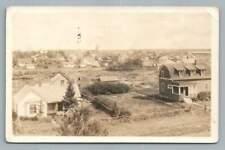 Stettler Alberta RPPC Danish-Canadian Immigrant~Rare Antique Frontier Photo 1926