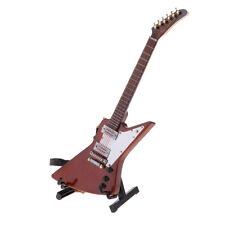 1/6 Modello di strumento musicale per chitarra elettrica in legno per