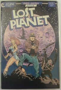LOST PLANET 1-6 ECLIPSE COMIC SET COMPLETE SCOTT BO BUNNY MACK HAMPTON 1987 NM