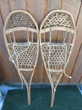 "OLD Snowshoes 44"" Long x 13"" Wide Great for DECORATION"