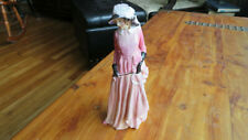 "Early Royal Doulton ""Pink"" Bone China Figurine ""Maureen"" - Hn 1770 - 7-1/2"" Tall"