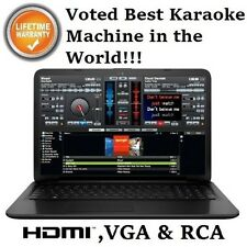 HP Karaoke Laptop Professional Karaoke Computer I3 Karaoke Software DJ Software