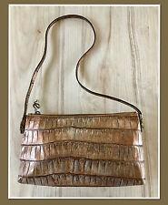 John Galliano Bronze Metallic Snake Embossed Vintage Bag
