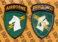 US Army 1st Special Operations Command Airborne SOCOM patch m/e
