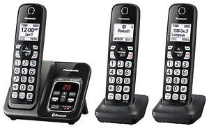 Panasonic KX-TGD563M Bluetooth Cordless Phone with Voice Assist - 3 Handsets
