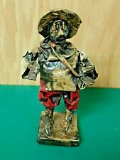 Sancho Panza paper mache figurine Mexican handcraft Splendid Don Quijote Quixote