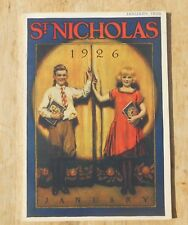 St Nicholas Magazine for boys and girls vintage 1926 January