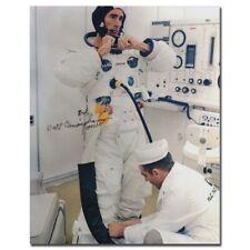 Apollo 7 astronaut Walt Cunningham handsigned 8x10 glossy - 8h28