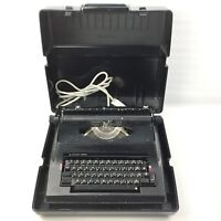 Faulty Vintage Silver Reed Electric 2200 Electric Typewriter in case, JAPAN Made