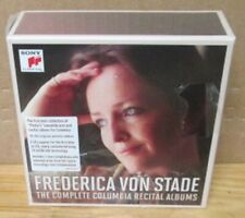 FREDERICA VON STADE COMPLETE COLUMBIA 18 CD BOX SS SEALED SONY OOP HYPE STICKER