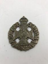 Waterloo Rifle Brigade Medal Cap Badge