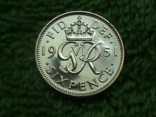 GREAT BRITAIN 6 Pence 1951 PROOF