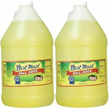 Dill Pickle Juice 2 Gallons Best Maid Delicious Brine Shooter Pickleback Mixer