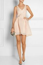 GORGEOUS AUTENTIC MAJE dress puffball nude peach Mesh puff 1 XS-S
