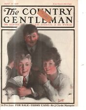 1918 Country Gentleman Cover April 20 - At the Theater