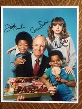 Different Strokes Cast Autographed Signed Photo x 4 Plato Coleman Bain Bridges