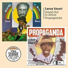 Leroy Smart(CD Album)Dread Hot In Africa/Propaganda-Burning Sounds-BSRC-New