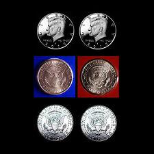 2010 P+D+S+S Kennedy ~ Silver & Clad Proof + PD Satins Mint Wrap & PD Mint Rolls