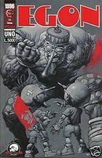 EGON # 1 (Shok Studio, 1996) Disegni di Alberto Ponticelli, copertina di Horley