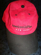 AMERICAN GIRL PLACE Children's YOUNG GIRLS HAT Baseball Cap Red Black NEW YORK