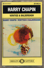 HARRY CHAPIN  Verities & Balderdash   COMPACT CASSETTE