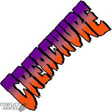 """Creatura """"mercato grigio"""" Skateboard Snowboard Adesivo 18 cm X 7cm Decalcomania Viola"""