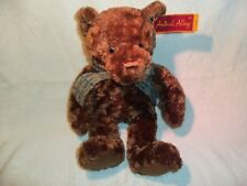 Toys R Us Exclusive Animal Alley Brown Collered Plush Teddy Bear (New)