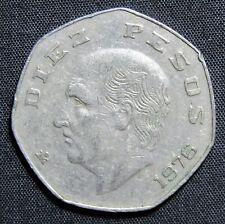 1976 Mexico 10 Pesos Coin