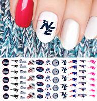 New England Patriots Football Nail Art Decals - Salon Quality!
