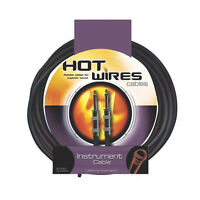 On Stage- Guitar Instrument Cables,10 Feet -  LIFETIME WARRANTY