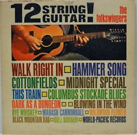 """The Folkswingers """"12 String Guitar!"""" [World Pacific WP1812] LP Glen Campbell"""