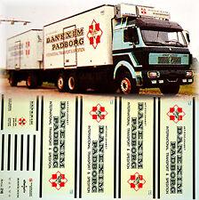 Volvo MB SK Danexim Padborg Transport & Expédition DK 1:87 camion autocollant