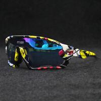 Ultralight Photochromic Bicycle Glasses Polarized Sunglasses Bike Eyewear UV400