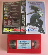 film VHS COWBOY BEBOP Vol. 3  Dynamic 1998   (F32) no dvd