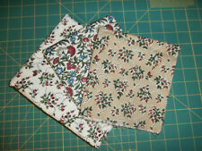 4 Pcs Georgetown Fabric Moda 100% Cotton Floral 1 & 2/3 Yards Total