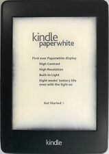 "Amazon Kindle PaperWhite 2 6th Gen 2013 E-Reader DP75SDI 4GB WIFI 6"" Black   #B4"