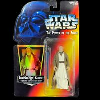 STAR WARS The Power of the Force BEN OBI-WAN KENOBI Red Card Action Figure 1995