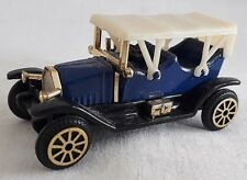 FIAT MODELLO 1910 MODEL CAR DIECAST BLUE  READERS DIGEST USED