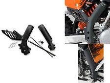 NEW KTM FRAME PROTECTION GUARDS BLACK SX SXR XC XC-W EXC 2007-2011 77303094100