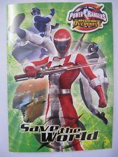 Power rangers birthday cards and stationery for children ebay fantastic colourful power rangers activity birthday greeting card badge bookmarktalkfo Choice Image